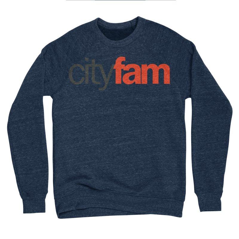CityFam Men's Sponge Fleece Sweatshirt by Cityfam's Artist Shop