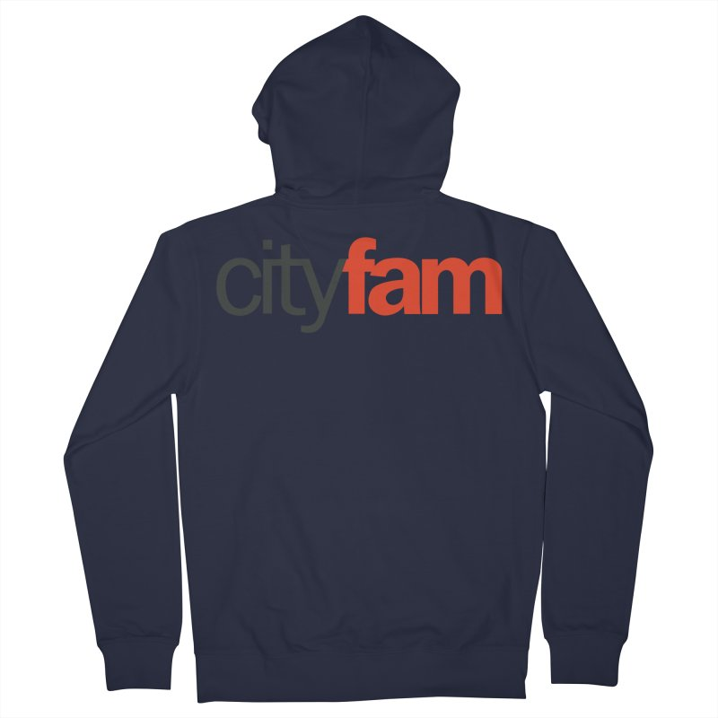 CityFam Women's French Terry Zip-Up Hoody by Cityfam's Artist Shop