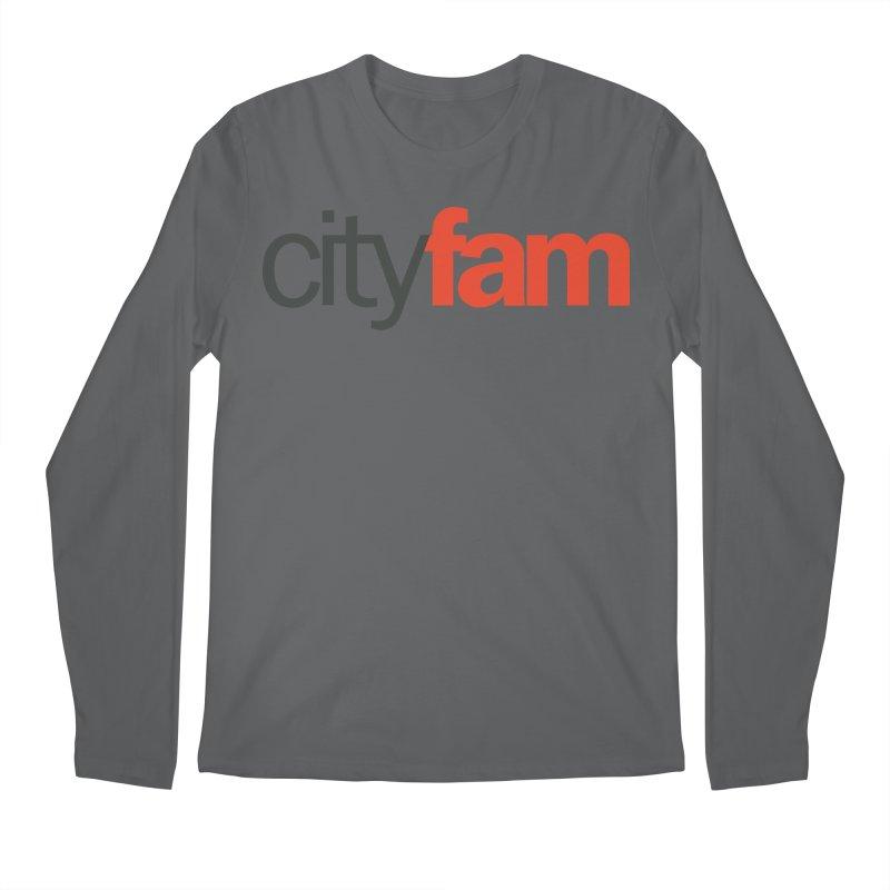 CityFam Men's Regular Longsleeve T-Shirt by Cityfam's Artist Shop