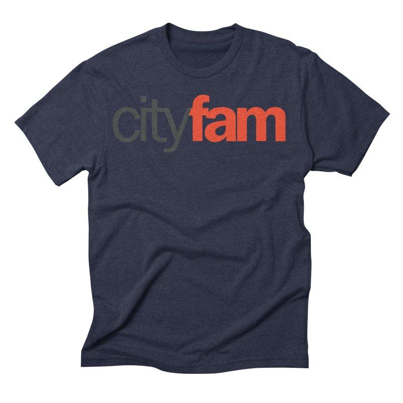 CityFam Men's Triblend T-Shirt by Cityfam's Artist Shop