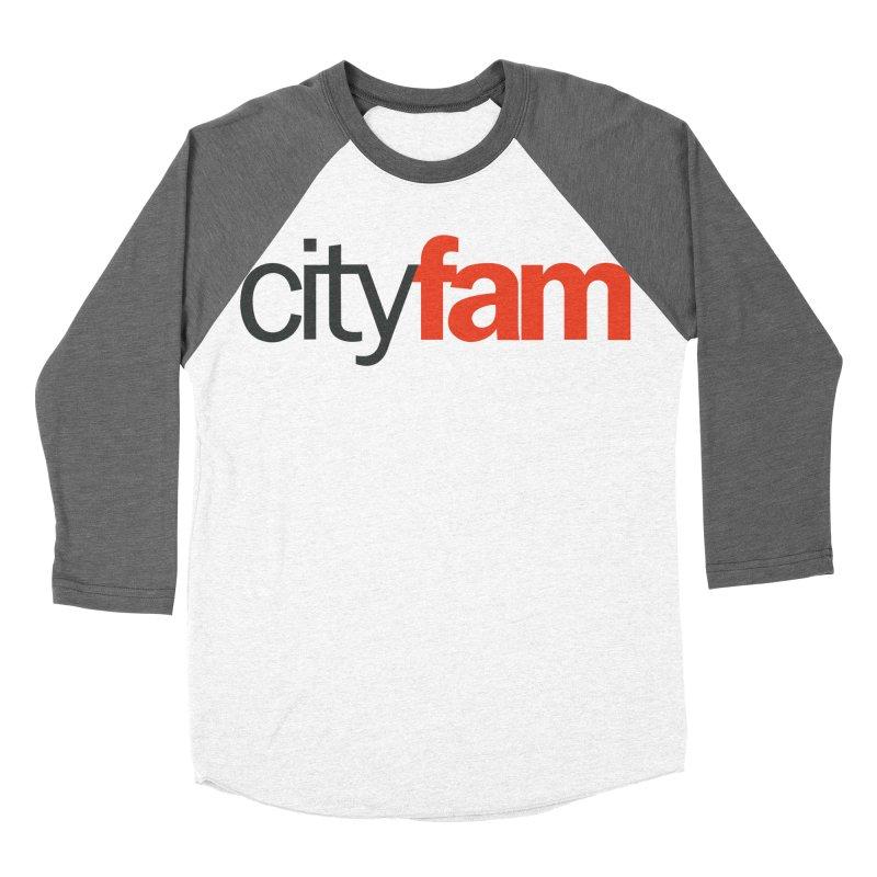 CityFam Women's Baseball Triblend Longsleeve T-Shirt by Cityfam's Artist Shop