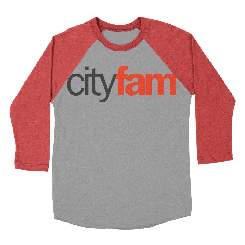 CityFam Men's Baseball Triblend Longsleeve T-Shirt by Cityfam's Artist Shop