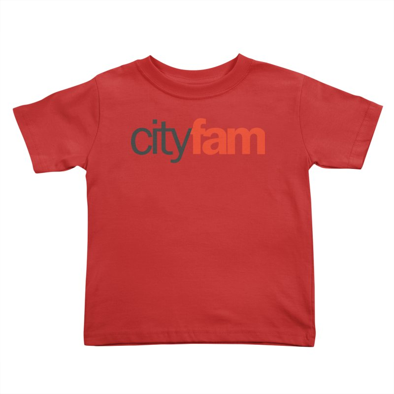 CityFam Kids Toddler T-Shirt by City Fam's Artist Shop