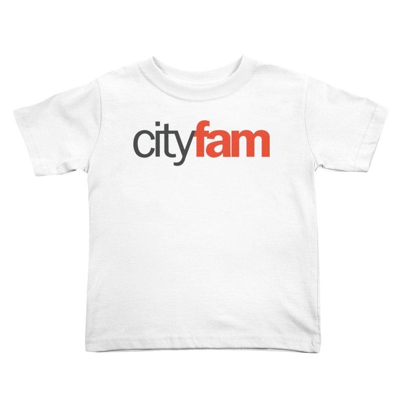 CityFam Kids Toddler T-Shirt by City Fam's Artist Shop