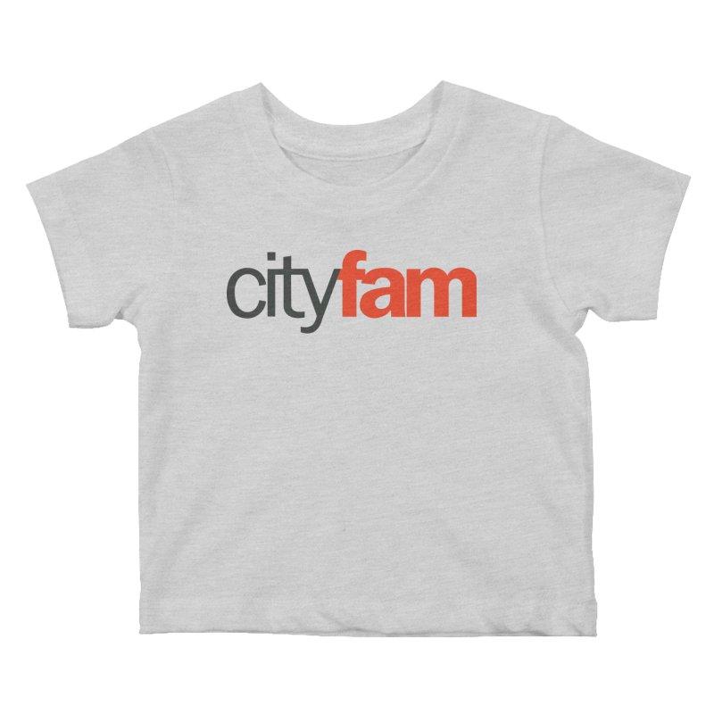 CityFam Kids Baby T-Shirt by City Fam's Artist Shop
