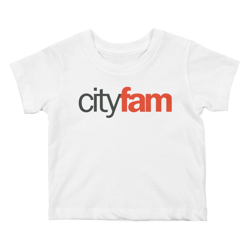 CityFam Kids Baby T-Shirt by Cityfam's Artist Shop