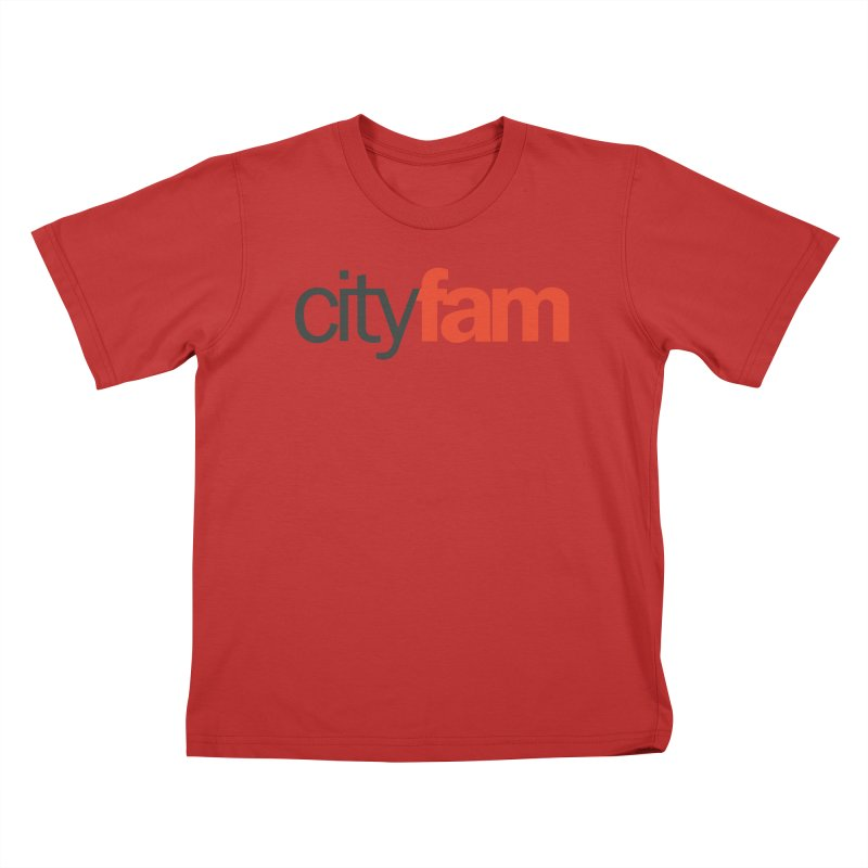 CityFam Kids T-Shirt by Cityfam's Artist Shop