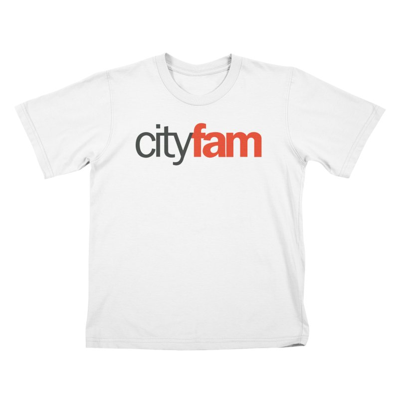 CityFam Kids T-Shirt by City Fam's Artist Shop