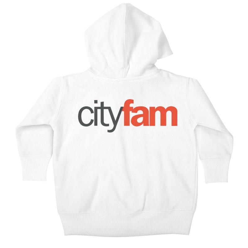 CityFam Kids Baby Zip-Up Hoody by Cityfam's Artist Shop
