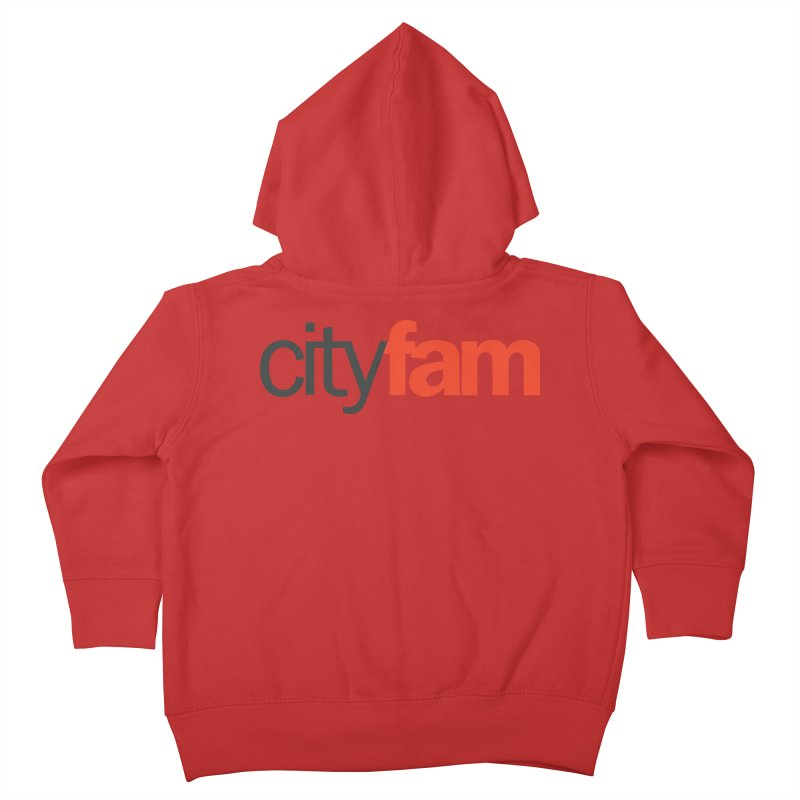 CityFam Kids Toddler Zip-Up Hoody by Cityfam's Artist Shop