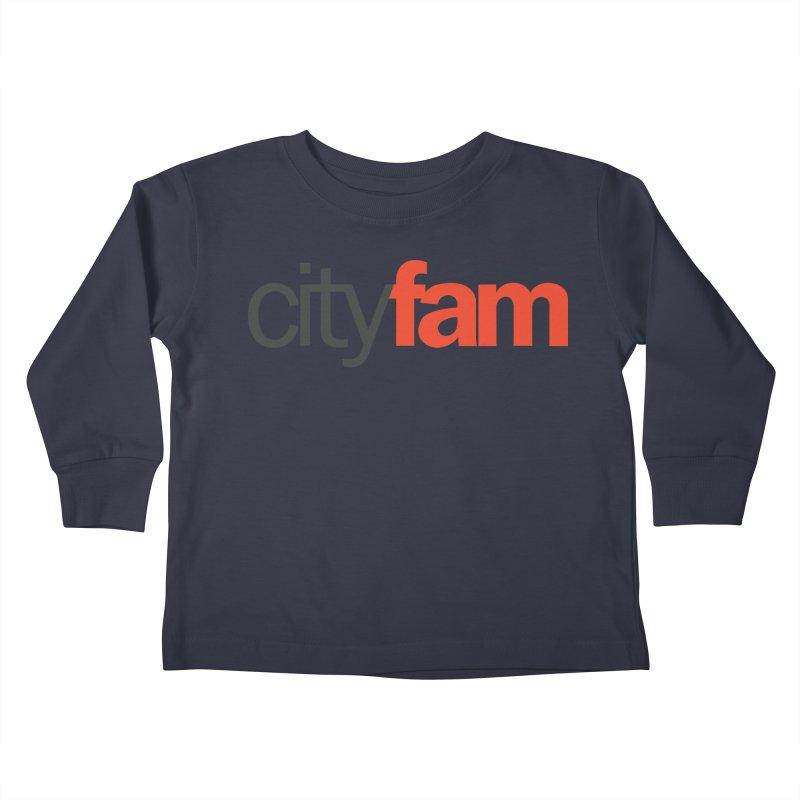CityFam Kids Toddler Longsleeve T-Shirt by Cityfam's Artist Shop
