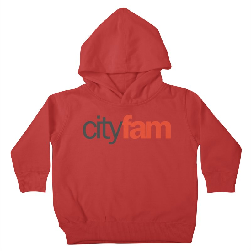 CityFam Kids Toddler Pullover Hoody by Cityfam's Artist Shop