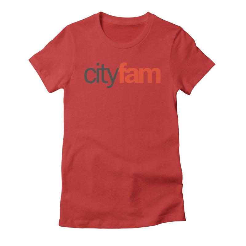 CityFam Women's Fitted T-Shirt by City Fam's Artist Shop