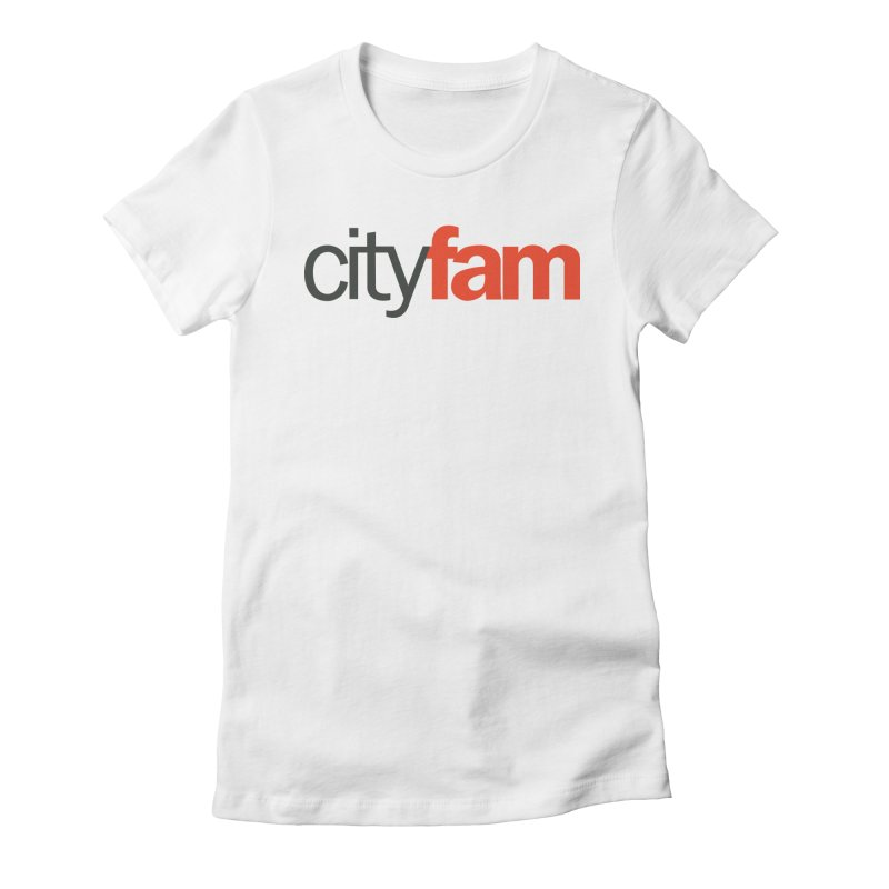 CityFam Women's Fitted T-Shirt by City Fam's Artist Shop