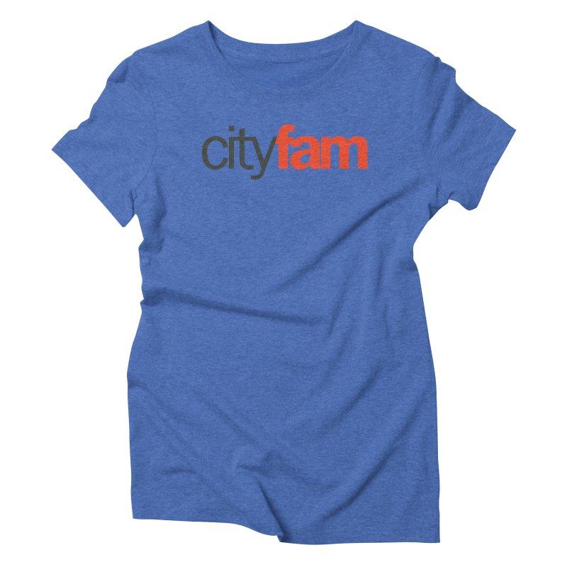 CityFam Women's Triblend T-Shirt by Cityfam's Artist Shop