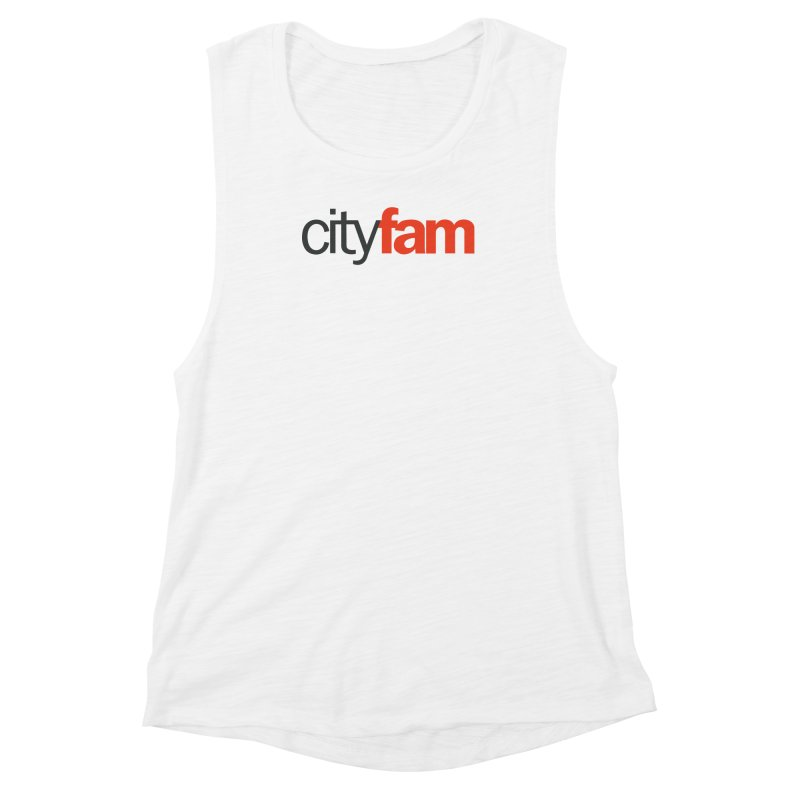 CityFam Women's Muscle Tank by Cityfam's Artist Shop