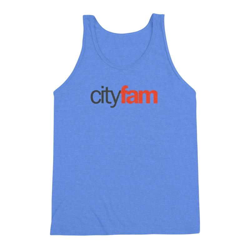 CityFam Men's Triblend Tank by Cityfam's Artist Shop