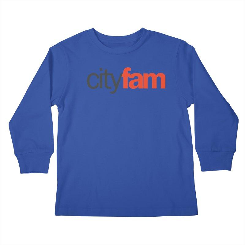 CityFam Kids Longsleeve T-Shirt by Cityfam's Artist Shop