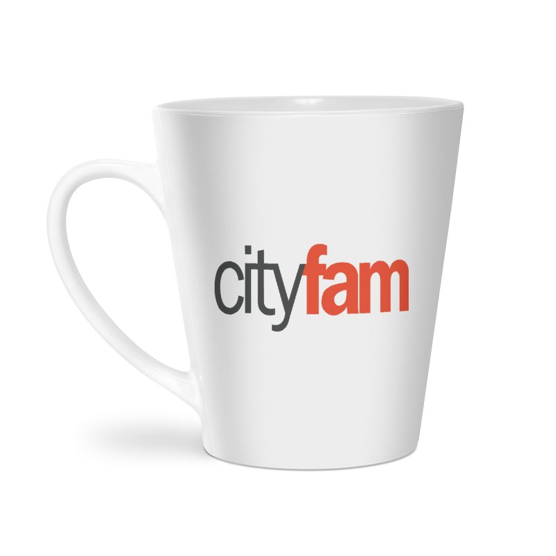 CityFam Accessories Latte Mug by City Fam's Artist Shop