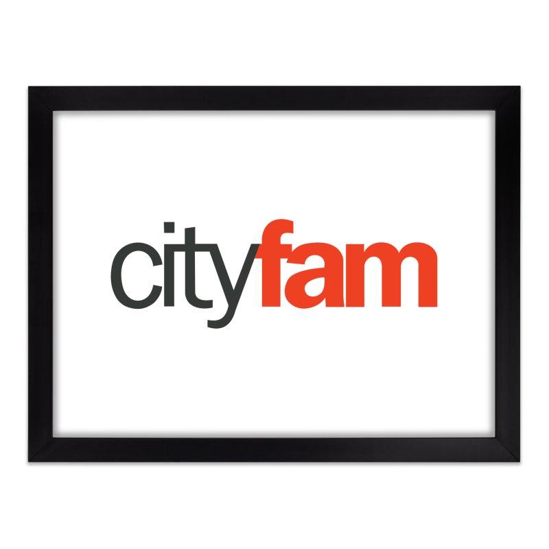 CityFam Home Framed Fine Art Print by City Fam's Artist Shop