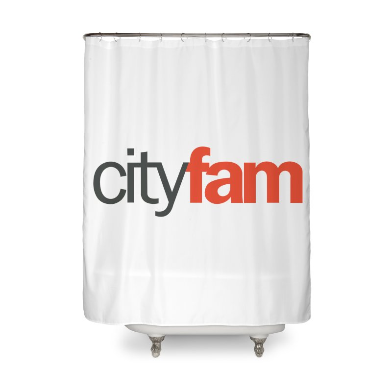 CityFam Home Shower Curtain by City Fam's Artist Shop
