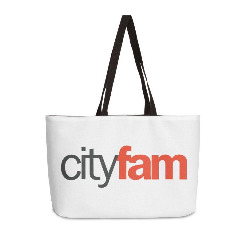 CityFam Accessories Weekender Bag Bag by City Fam's Artist Shop