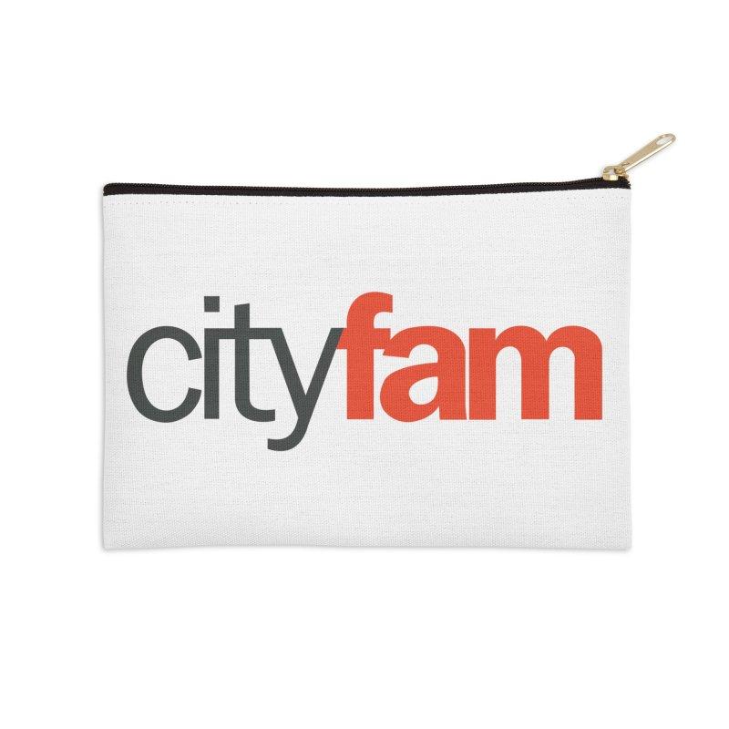 CityFam Accessories Zip Pouch by City Fam's Artist Shop