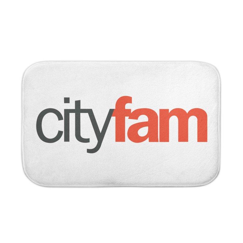 CityFam Home Bath Mat by City Fam's Artist Shop