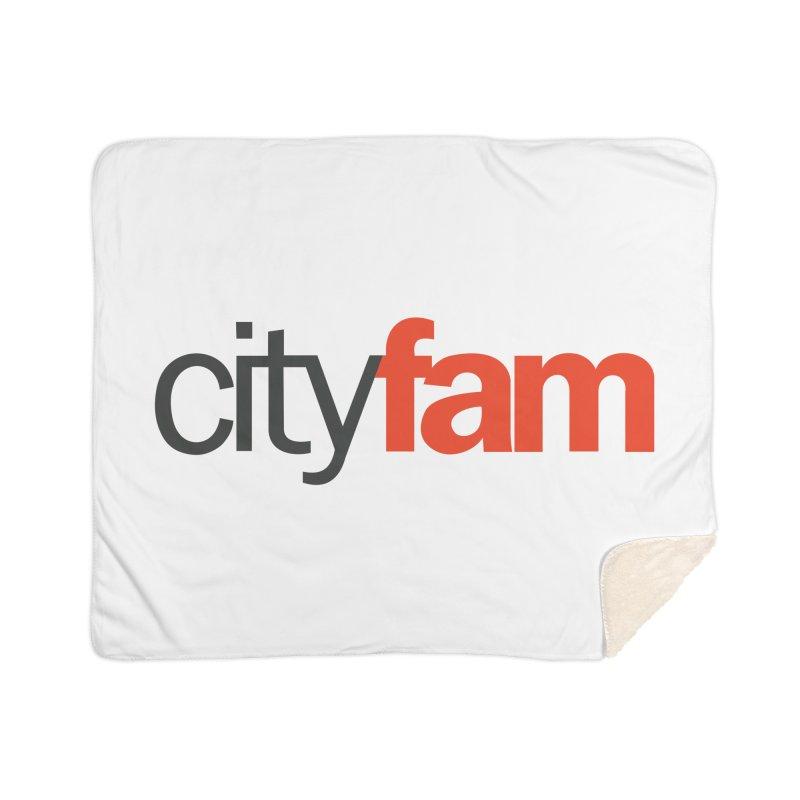 CityFam Home Sherpa Blanket Blanket by City Fam's Artist Shop