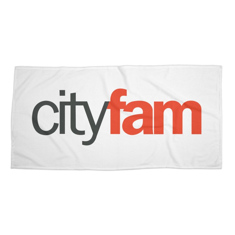 CityFam Accessories Beach Towel by City Fam's Artist Shop