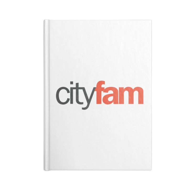 CityFam Accessories Lined Journal Notebook by City Fam's Artist Shop