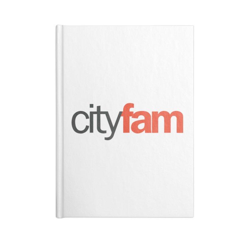 CityFam Accessories Notebook by City Fam's Artist Shop