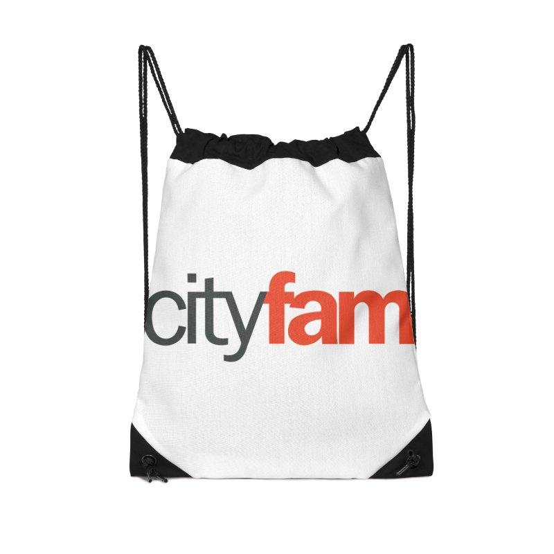 CityFam Accessories Drawstring Bag Bag by City Fam's Artist Shop