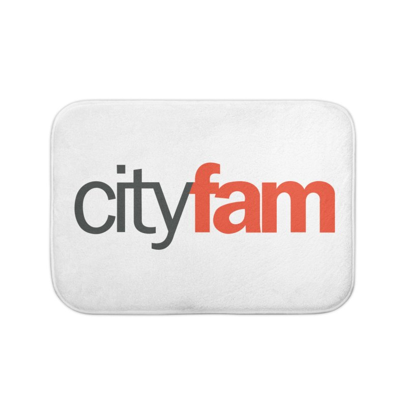 CityFam Home Bath Mat by City Fam's Artist Shop