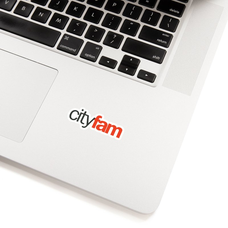 CityFam Accessories Sticker by City Fam's Artist Shop