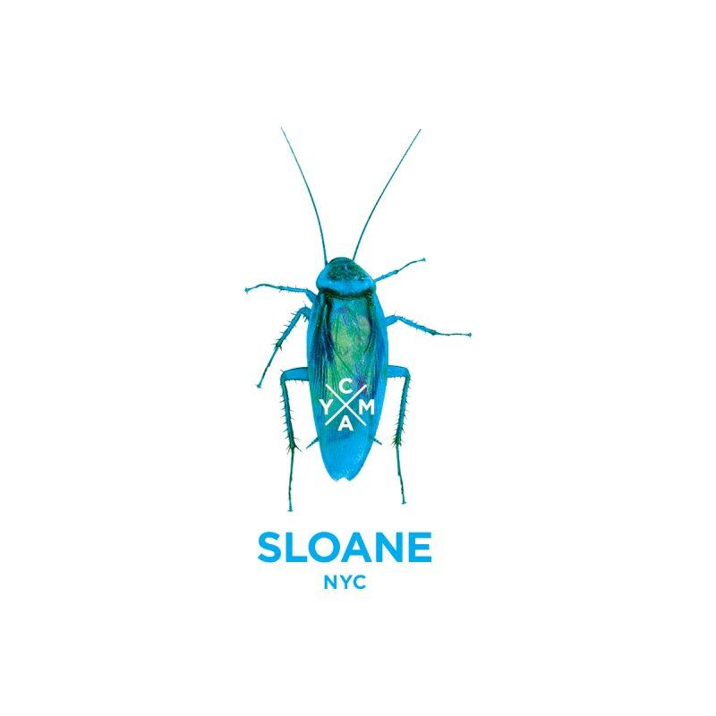 SLOANE NEON COCKROACH Men's T-Shirt by SLOANE HOUSE