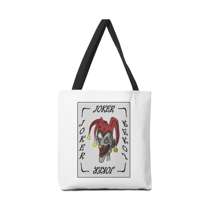 Zombie Joker Accessories Bag by ClaytonArtistry's Artist Shop