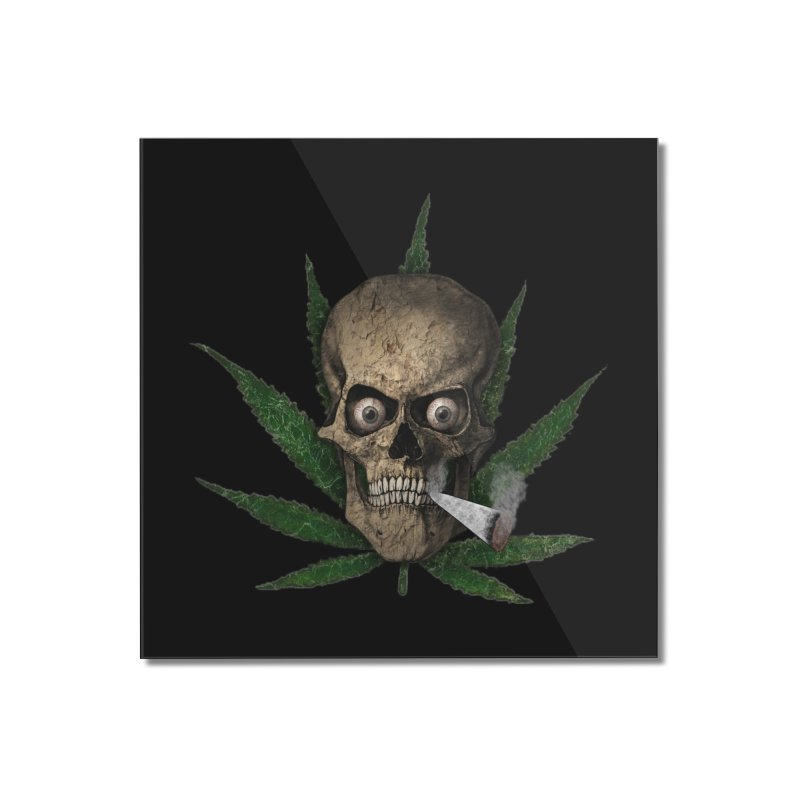 Want a Hit? Home Mounted Acrylic Print by ClaytonArtistry's Artist Shop