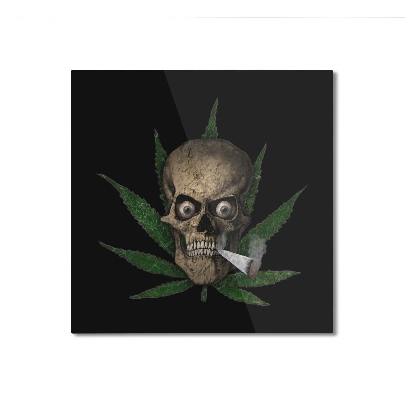 Want a Hit? Home Mounted Aluminum Print by ClaytonArtistry's Artist Shop