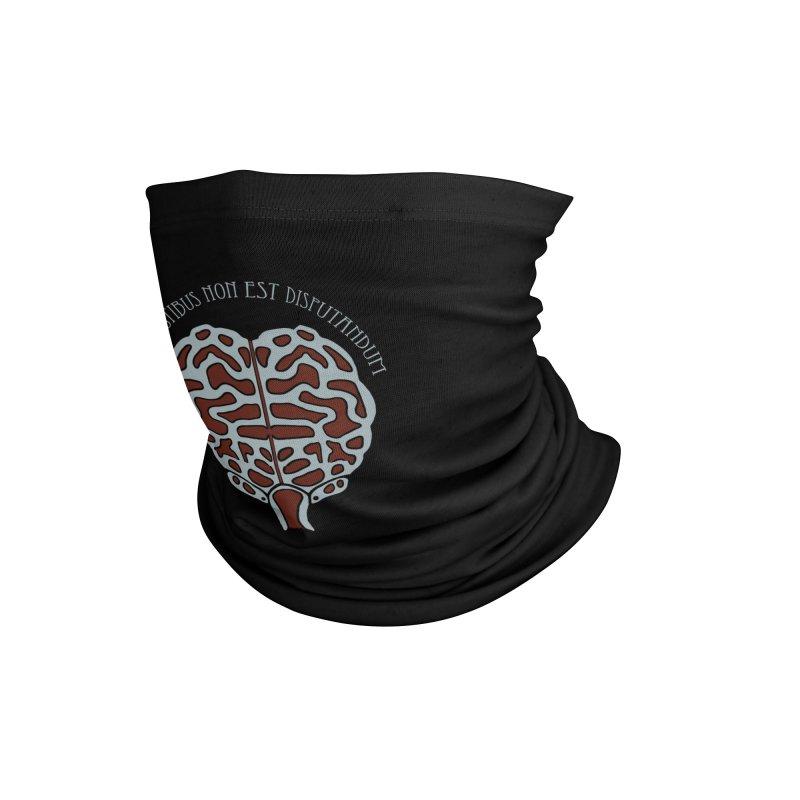Latin Zombie Brain Accessories Neck Gaiter by ClaytonArtistry's Artist Shop
