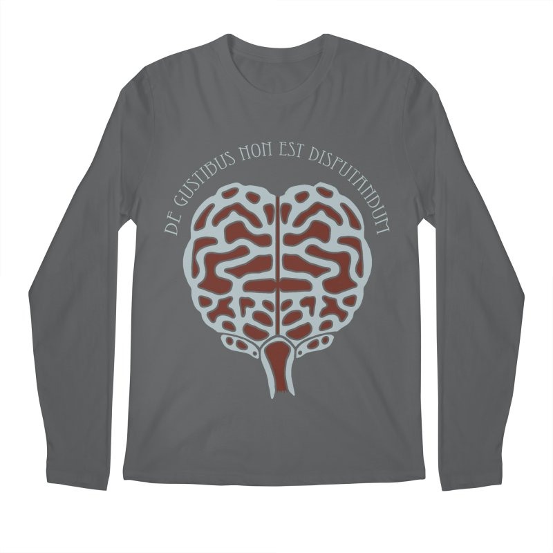 Latin Zombie Brain Men's Longsleeve T-Shirt by ClaytonArtistry's Artist Shop