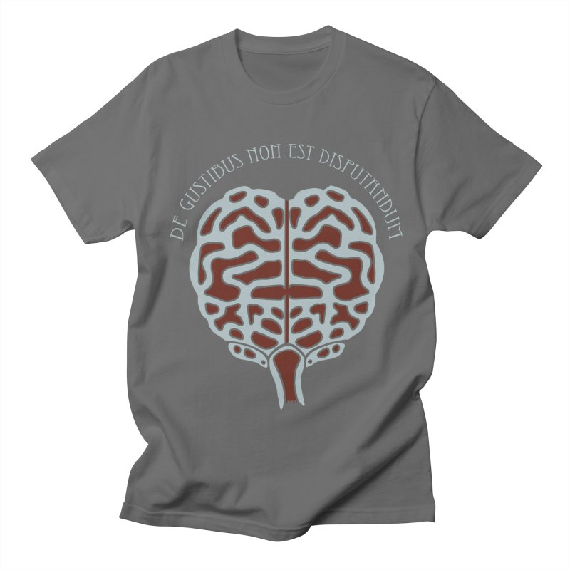 Latin Zombie Brain Men's T-Shirt by ClaytonArtistry's Artist Shop