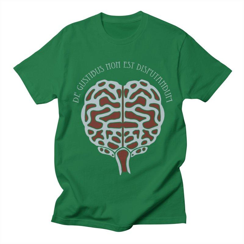 Latin Zombie Brain Men's T-Shirt by ClaytonArtistry's Artist Shop