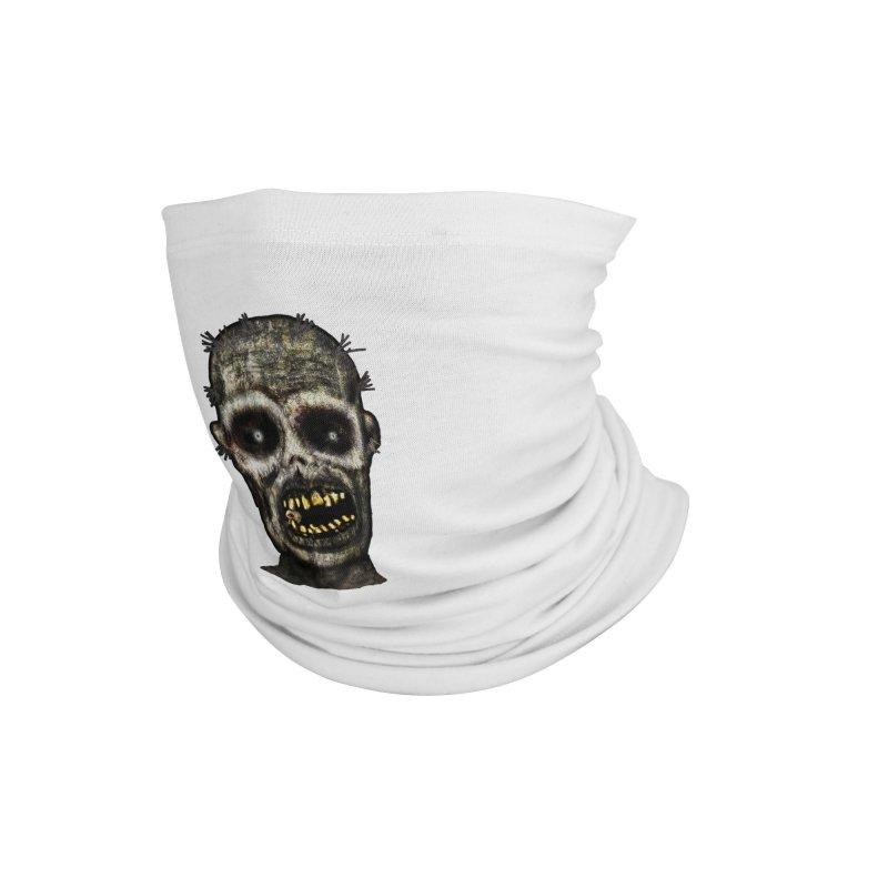 Zombie Head Accessories Neck Gaiter by ClaytonArtistry's Artist Shop
