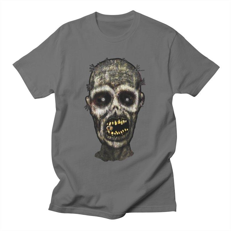 Zombie Head Men's T-Shirt by ClaytonArtistry's Artist Shop
