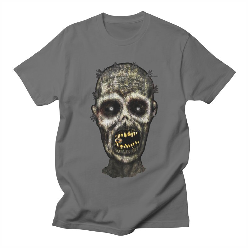 Zombie Head Men's T-Shirt by ClaytonArtistry's Artist Shop