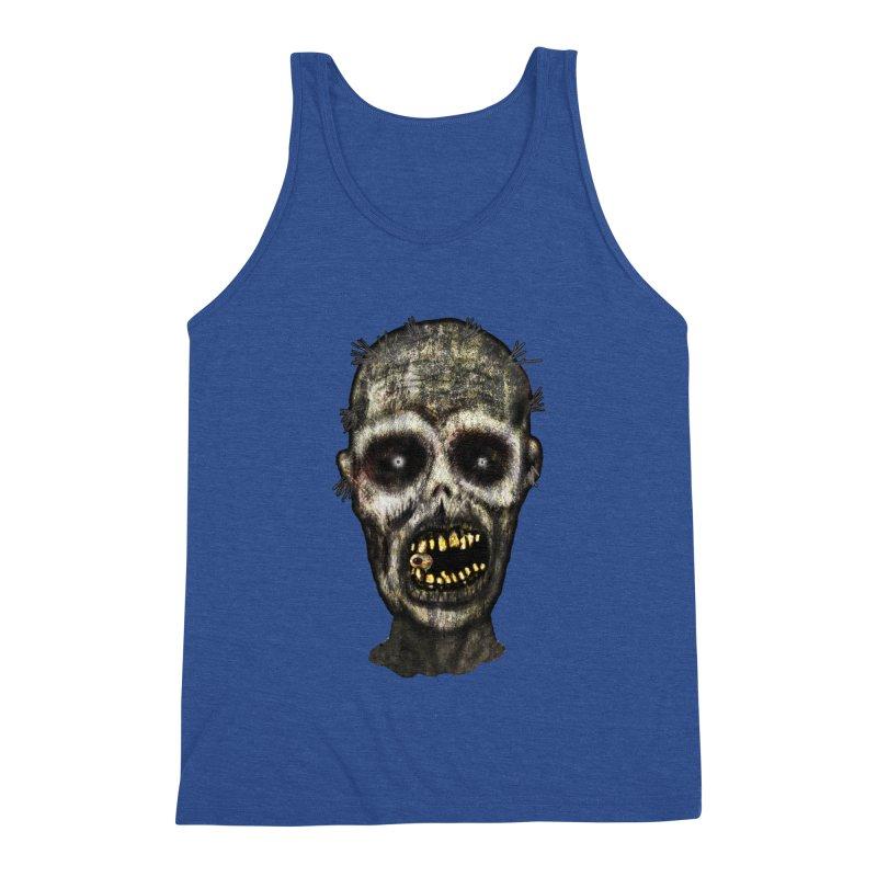 Zombie Head Men's Tank by ClaytonArtistry's Artist Shop