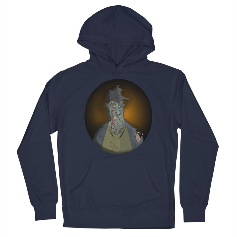Zombie Author Men's Pullover Hoody by ClaytonArtistry's Artist Shop