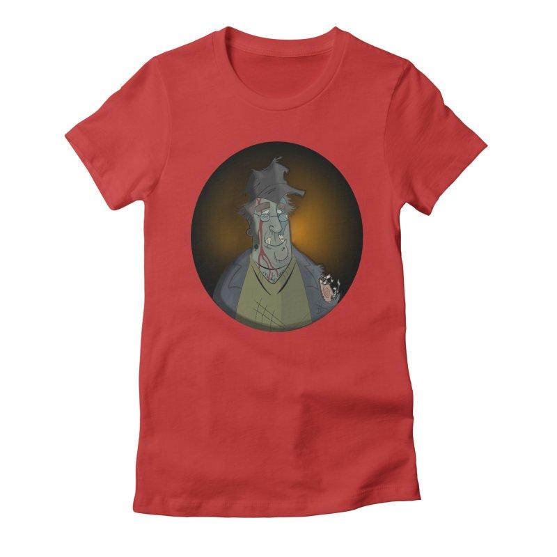 Zombie Author Women's T-Shirt by ClaytonArtistry's Artist Shop