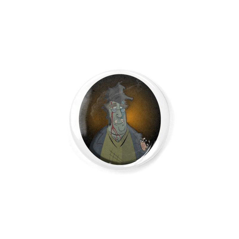 Zombie Author Accessories Button by ClaytonArtistry's Artist Shop